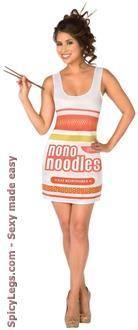 Instant Noodles Adult Costume