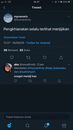 Quotes Lucu, Quotes Galau, Jokes Quotes, Qoutes, Dark Wallpaper Iphone, Reminder Quotes, Quotes Indonesia, Boyfriend Quotes, Cot
