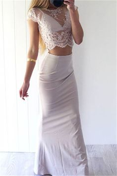 Sexy Prom Dresses,White Lace Evening Gowns,Mermaid Party Dresses,2http://www.luulla.com/store/Balladresses?p=117