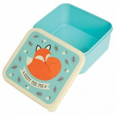 Lunch trommel - Rusty the fox - lunchbox - Kinderen