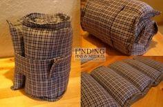 Shoulder Rice Bag Pattern 121
