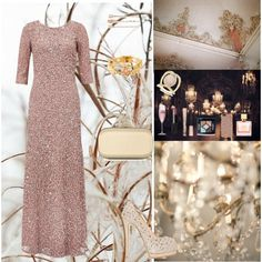 How To Wear Winter Glitter Outfit Idea 2017 - Fashion Trends Ready To Wear For Plus Size, Curvy Women Over 20, 30, 40, 50