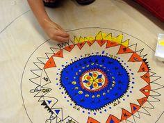 Eye Pop Art: Portland Children's Museum Mandala Project