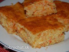 Fotorecept: Mrkvovo-kokosový koláč