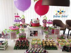 Festa Panda personalizada, Festa Panda personalizada, Baloes canal Panda, Festa Canal Panda com baloes