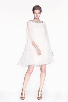 Reem Acra Pre-Fall 2013 Fashion Show - Mathilde Frachon