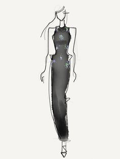 Tanya Taylor Fall 2013; Illustration by Danielle Meder