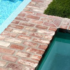 Having a pool sounds awesome especially if you are working with the best backyard pool landscaping ideas there is. How you design a proper backyard with a pool matters. Pool Coping, Backyard Pool Designs, Swimming Pools Backyard, Living Pool, Pool Remodel, Rectangular Pool, Pool Cabana, Fiberglass Pools, Brick Patios