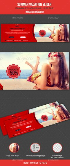 Summer Vacation Slider by
