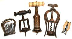 Beautiful Vintage Antique Corkscrews...Would love to start collecting these.