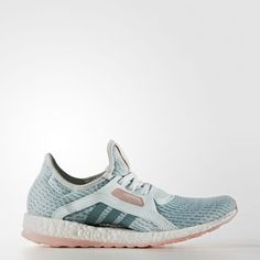 Digging the pastels on these adidas Pure Boost X Shoes