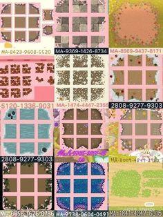 Animal Crossing Wild World, Animal Crossing Guide, Animal Crossing Pocket Camp, Motif Acnl, Ac New Leaf, Island Theme, Path Design, Motifs Animal, Animal Games