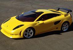 Неизданное/Lamborghini Cala 1995 год+видео