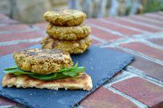 Fresh Fit N Healthy – {Vegetarian} Pumpkin Chickpea Burger Patties (via Grace) Caramel From Condensed Milk, Chickpea Burger, Savory Pumpkin Recipes, Registered Dietitian, Vegetarian Meals, Salmon Burgers, Spicy, Sweets, Fresh