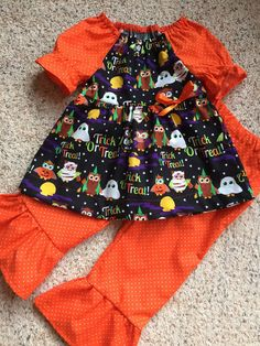 A personal favorite from my Etsy shop https://www.etsy.com/listing/247181215/toddler-halloween-outfit-girls-halloween