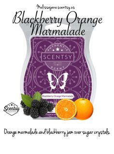 Scentsy 2016 | Blackberry Orange Marmalade | New release | Fall & Winter…