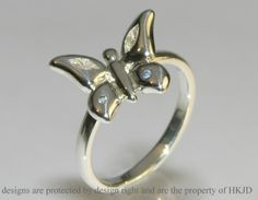 Butterfly Wedding Rings | engagement ring inspired by a butterfly inspired by a butterfly ...
