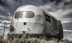 Photograph - Classic Airstream Caravan by Ian Hufton , Airstream Caravans, Camper Caravan, Campers, Airstream Interior, Neo Victorian, Vintage Travel Trailers, Professional Business Cards, Steampunk, Train