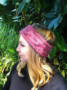 tricoter bandeau headband bergère de france