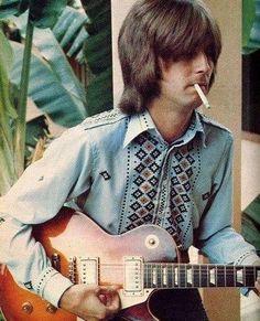 Eric Clapton, Cream, 1968 #ericclapton #forthosewholiketorock