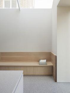 *넓은 채광창으로 공간의 확장성을 꾀한 영국 런던의 미니멀주택-[ Al-Jawad Pike ] Shepherd's Bush