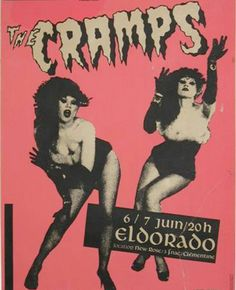punk flyer / the cramps.