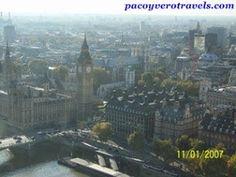 El Big Ben desde el London Eye #londres http://www.pacoyverotravels.com/2013/10/london-eye.html