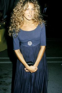 Celeb: Sarah Jessica Parker, August 6, 1988 at the AIDS Project Los Angeles' Fire & Ice Gala.