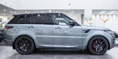 """2016 Range Rover Sport in custom color """"Scotia Gray"""". What a beauty!!"""