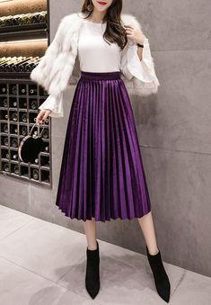 Efficient Portraits Lavender Floral Light Skirt Elasticated Waist Uk 16 Smart Office Wear Women's Clothing Clothing, Shoes & Accessories