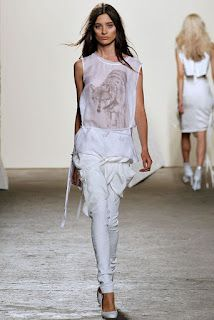 lovely whites @ Tess Giberson S/S '13