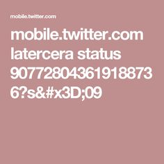 mobile.twitter.com latercera status 907728043619188736?s=09