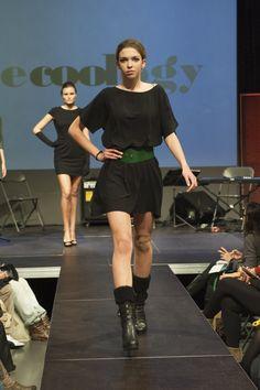 Vestit d'Ecoology al #BcnEthicalFashionFest http://www.ecoology.com/