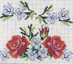 Familia y Arte: Rosas puesto de la Cruz
