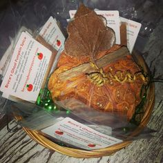 Spice Up the Season!  NOW AVAILABLE: Bruce's Ghost Pumpkin or Apple Spice.  Great to spice up ham, pork, bird & more! Also includes easy-to-use low DIP hot sauce recipe with spiced mix.  www.ghostpepperZ.com #pumpkinspice #ghostpepperZ