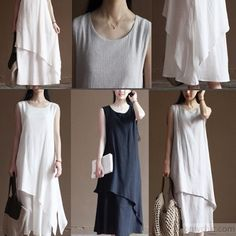 black_layered_linen_dress_summer_long_maxi_dresses_beach_sundress_sleeveless5_3 (387x387, 121Kb)