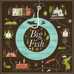 Brad Woodard: Big Fish Poster