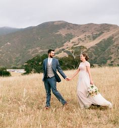 paige + eric | Penelope Gown & Camille Toppers from BHLDN | image via: green wedding shoes | #BHLDNbride
