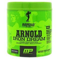 Arnold Schwarzenegger Series Iron Dream enhances deep sleep for maximum growth & recovery.