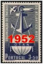 Resultado de imagen para 1952 timbres