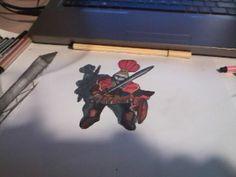 my little hero (it's a drawing)