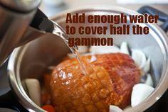 Easy Roast Gammon Recipe with Honey Mustard Glaze   Just Easy Recipes