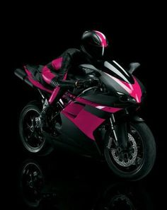 Beautiful Ducati motorcycle in pink and black. I want and need it sooo bad! Beautiful Ducati motorcycle in pink and black. I want and need it sooo bad!and the license to match! Motocross, Harley Davidson, Biker Chick, Biker Girl, Biker Boys, Ducati Motorcycles, Cars And Motorcycles, Ducati 848, Yamaha R6
