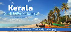 Book online Kerala tour package for 9 days. Get the best holiday deals on Kerala package with your Mystique Asia travel partner and visit to the Eravikulam national park and madupetty dam and enjoy boat riding at Periyar Lake. Honeymoon Tour Packages, Honeymoon Places, Best Holiday Deals, Make My Trip, Holiday Packages, Tourist Places, Cheap Travel, 10 Days, Asia Travel