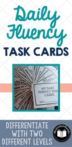 Daily Fluency Task C