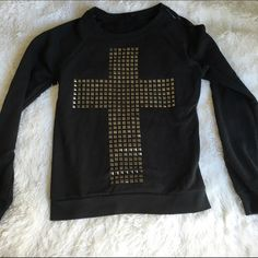 Cross sweater forever 21 jacket ♡ NO holds. Too many un reliable people  ♡ NO trades.  ♡ I ship through USPS & provide tracking! ♡ Don't low ball me. It's very rude  ♡ Don't waste my time, I'm a very busy person  ♡ All my items are in a smoke free home Forever 21 Jackets & Coats