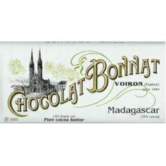 """Chocolat Bonnat """"Madagascar"""" 75% Dark Chocolate"""