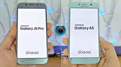 Samsung latest 2017 series Galaxy J5 Pro and Galaxy A5 speed comparison test.