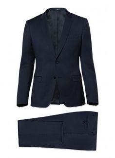 Costume bleu marine slim 16HC3MILY-N530 31 - Costume homme De Fursac Fursac, 4d3a2716487
