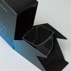 Drift Light Packaging by Andrew T. Matthews, via Behance